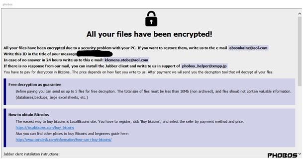 ransomware седмичен избор